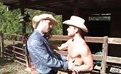Avec le cowboy Luke, le sexe anal sera dur