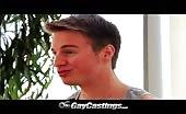 Ce mec gay sexy adore le faire au casting